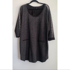 Jessica Simpson Sweatshirt Top/Tunic 1X